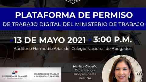 Platafoma de Permiso de Trabajo Digital del Ministerio de Trabajo