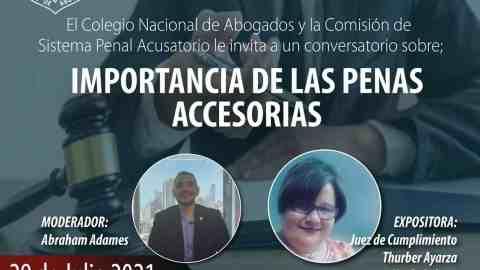 IMPORTANCIA DE LAS PENAS ACCESORIAS