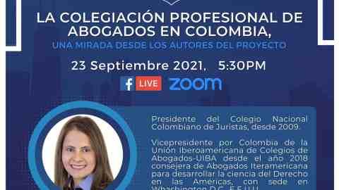 LA COLEGIACION PROFESIONAL DE ABOGADOS EN COLOMBIA