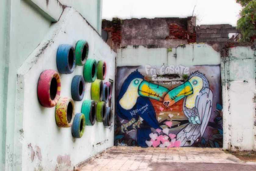 Street art in Casco Viejo, Panamá | PANAMAEXPATINFO.COM