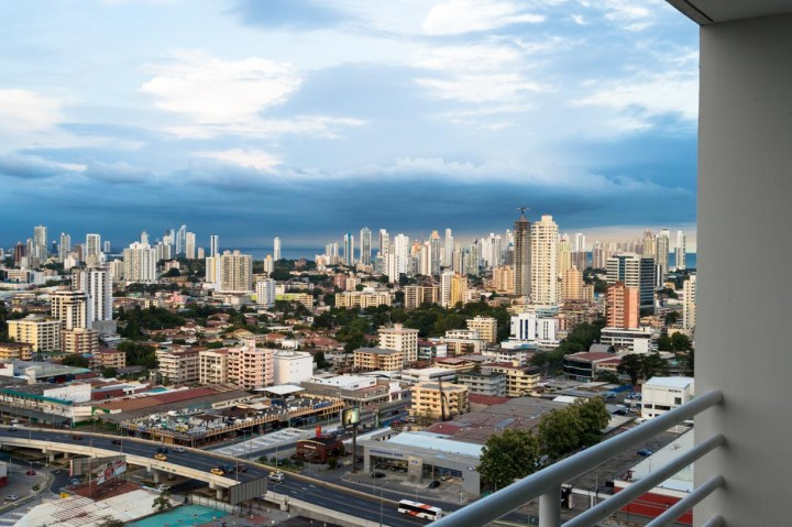 View from my apartment balcony in Panama City