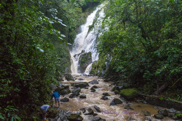 A waterfall in El Valle de Anton