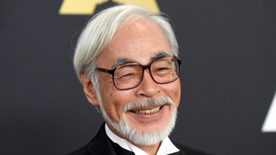 Hayao Miyazaki recibio el oscar honórario y esto dijo en la entrega..