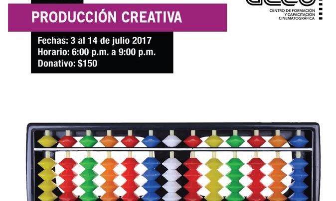En julio, Taller Producción Creativa en el Gecu