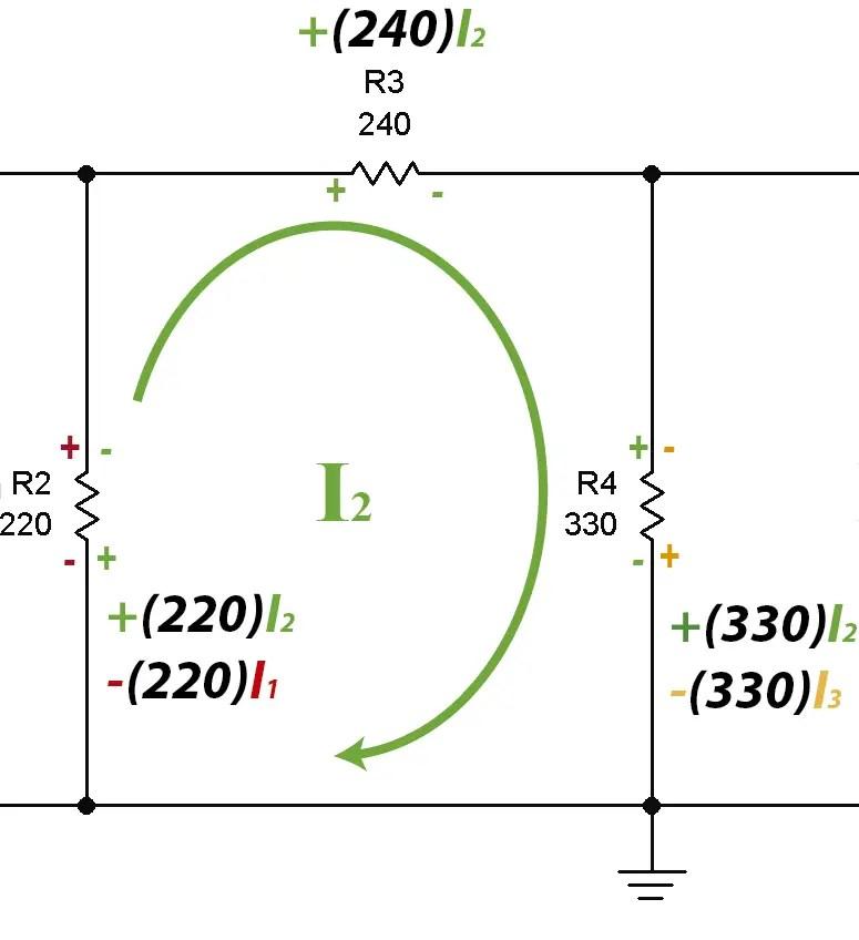 Ley de los voltajes de Kirchhoff