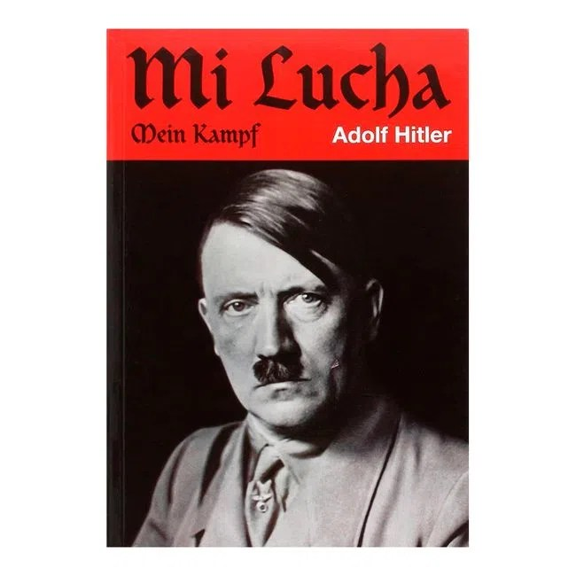 Resultado de imagen para Fotos del libro Mein Kampf (Mi lucha), de Adolf Hitler.