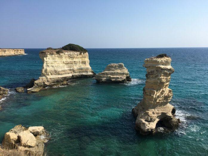 Puglia faraglioni sant'andrea