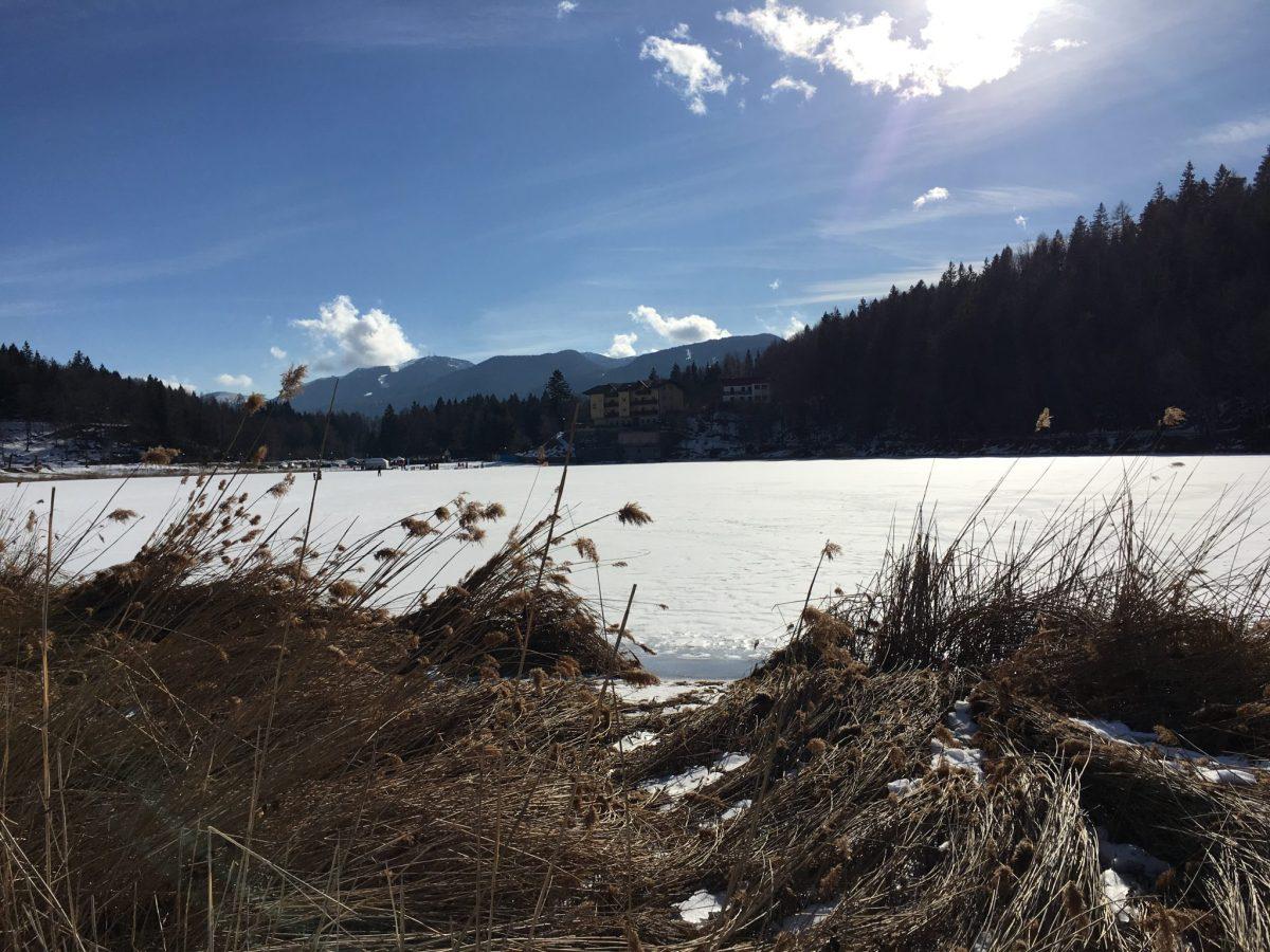 Lavarone lago ghiacciato