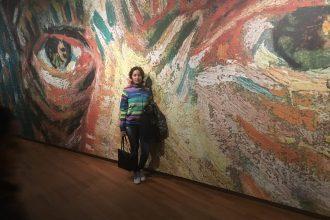 Van Gogh museum zona selfie