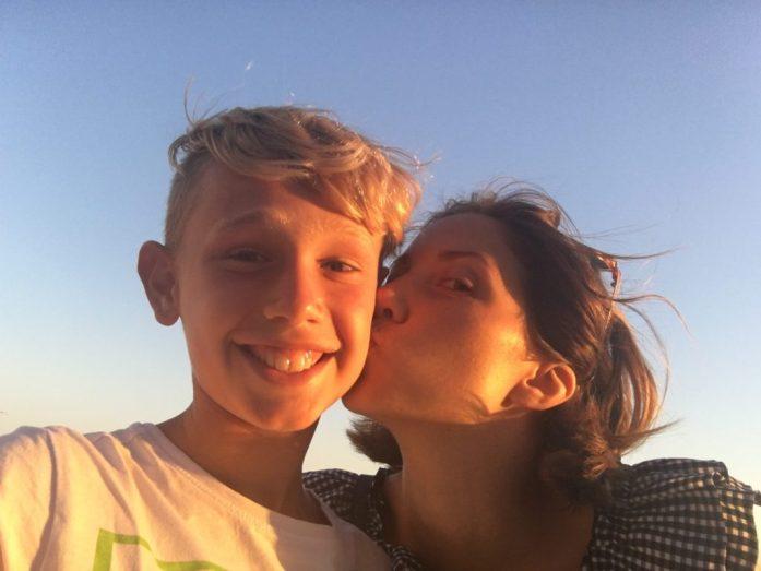 come convincere i figli in vacanza con i genitori