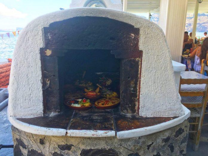 dove mangiare a santorini thirasia