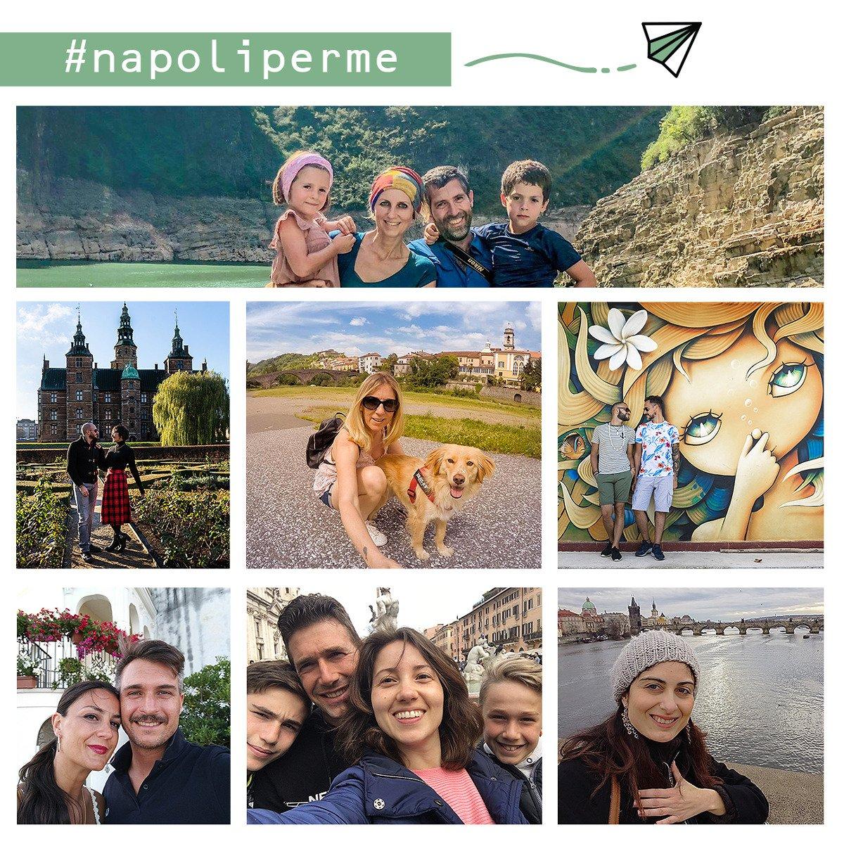 Tutti i travel blogger che hanno partecipato a Napoliperme