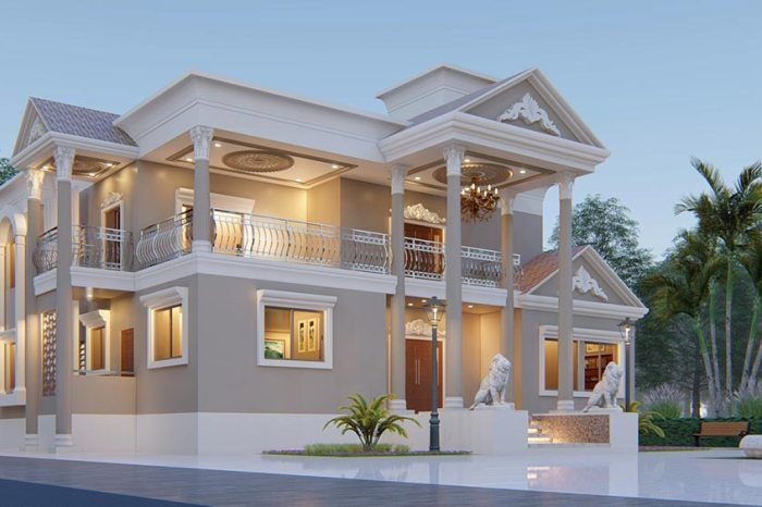 Traditional House Elevation