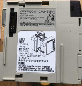 CQM1 CPU UNITS