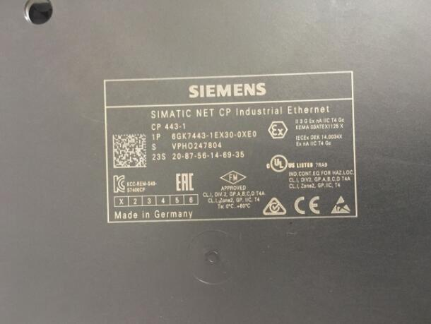 6GK7443-1EX30-0XE0 Siemens Communication Processor CP 443-1