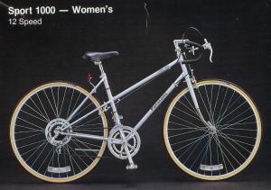 1983 Panasonic Sport 1000 - Women's