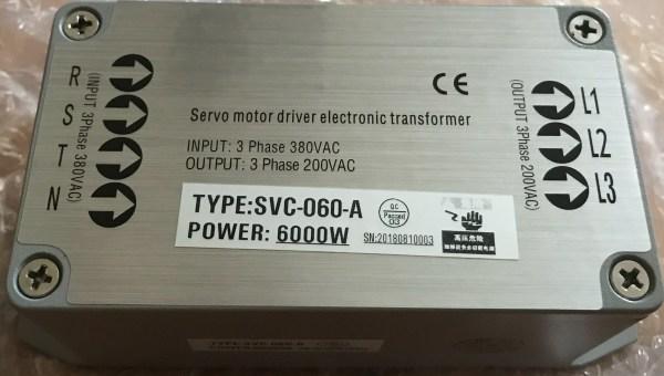 Servo Drive Electric Transformer