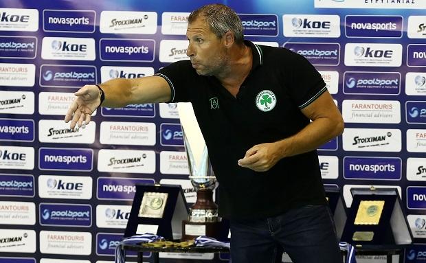 Λούδης: «Υπερήφανος για τους παίκτες και την προσπάθεια» | panathinaikos24.gr