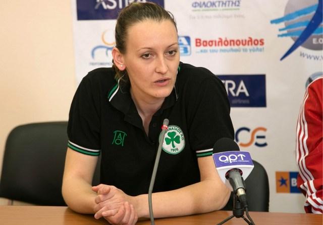 Τσίμα: «Εύχομαι να γίνουν καλά ματς με επίκεντρο το βόλεϊ» | panathinaikos24.gr