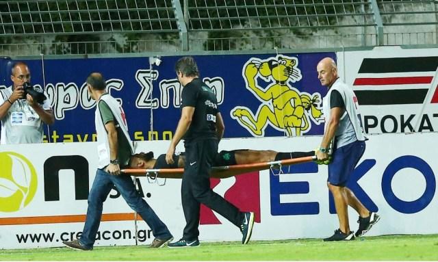 O Μολέδο τραυματίστηκε και το ασθενοφόρο… έλειπε!   panathinaikos24.gr