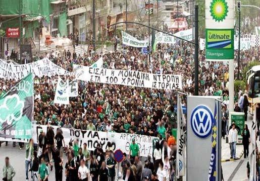Φωνή λαού: Δώδεκα χρόνια από το συλλαλητήριο κατά του Βαρδινογιάννη (vid) | panathinaikos24.gr