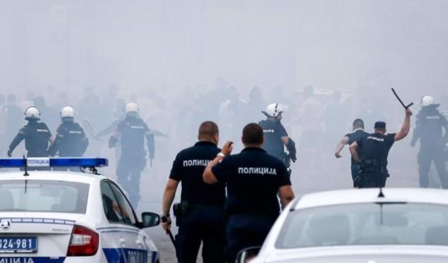 Σοκ: Άγριο ξύλο οπαδών Ερυθρού Αστέρα και Παρτιζάν σε αγώνα Νέων (pics,vid) | panathinaikos24.gr
