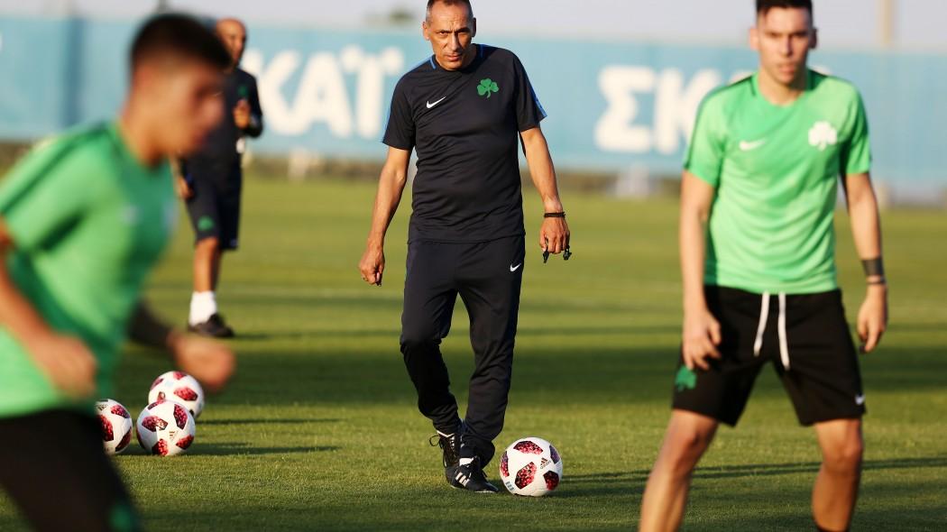 Δώνης σε παίκτες: «Θα έχετε όλοι την ευκαιρία σας» | panathinaikos24.gr