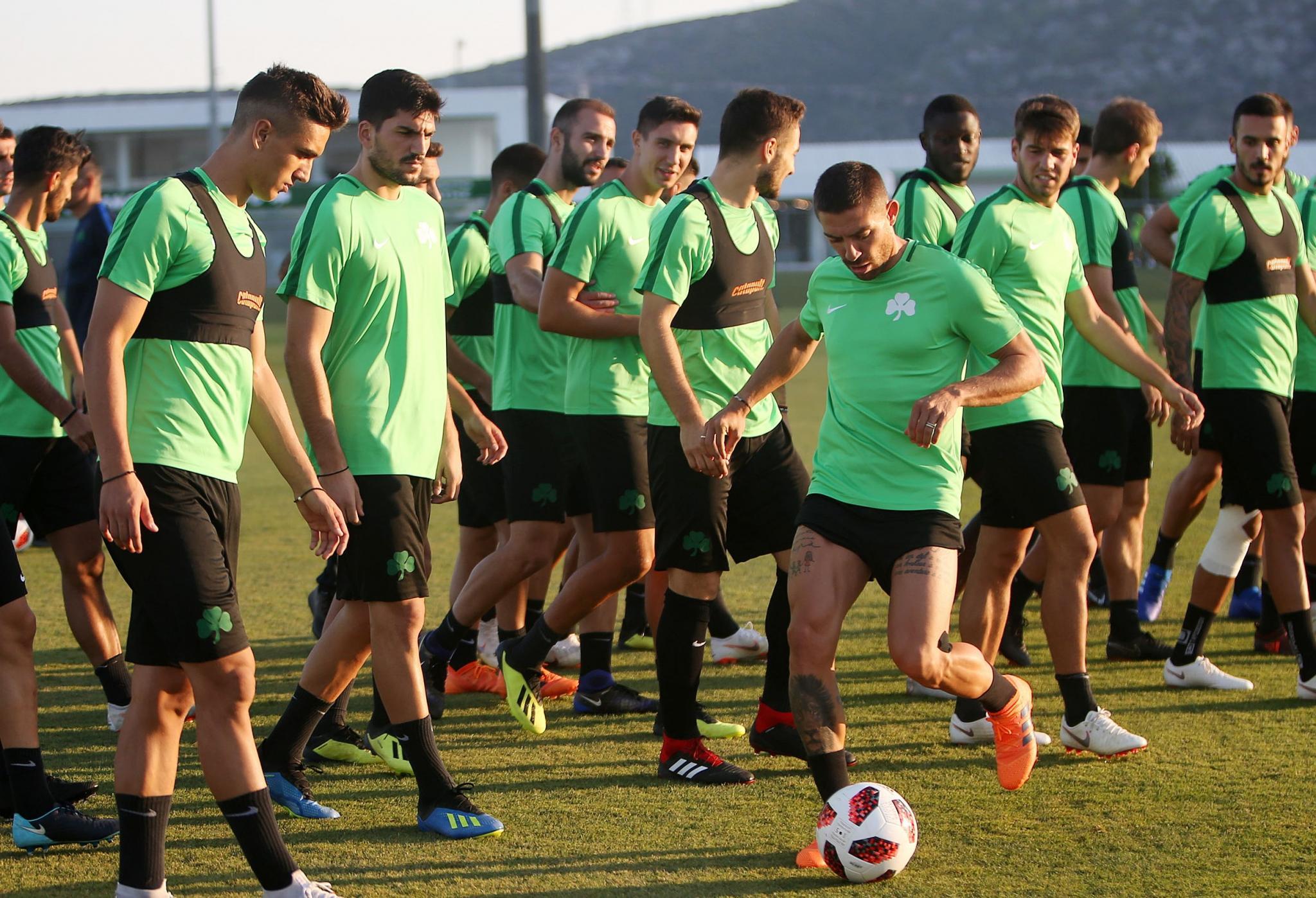 Το… σύνθημα που ακούγεται από κάθε «πράσινο» παίκτη (pic)   panathinaikos24.gr