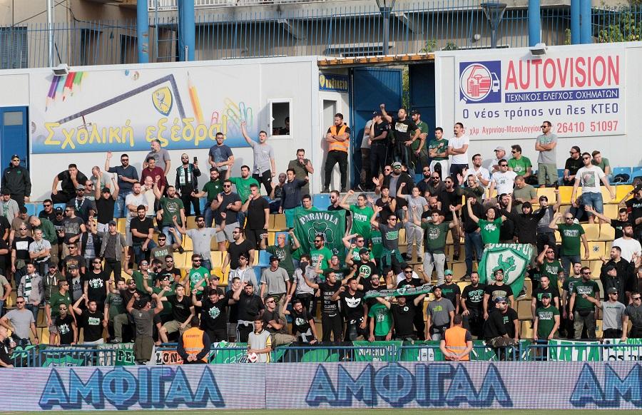 Η Θύρα 13 κάνει πάρτι στο Αγρίνιο (vid) | panathinaikos24.gr