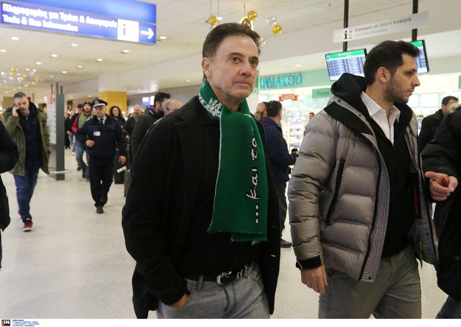 """Βίντεο: Οι δηλώσεις του Ρικ Πιτίνο από το """"Ελ. Βενιζέλος"""" (vids)   panathinaikos24.gr"""