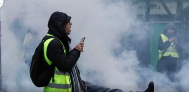 Αληθινή κόλαση στο Παρίσι απ' τις διαδηλώσεις – Φωτιά στα Ηλύσια Πεδία (vid) | panathinaikos24.gr