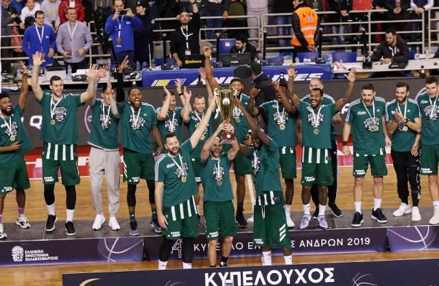 Η απονομή του Κυπέλλου στον Παναθηναϊκό! (vid) | panathinaikos24.gr