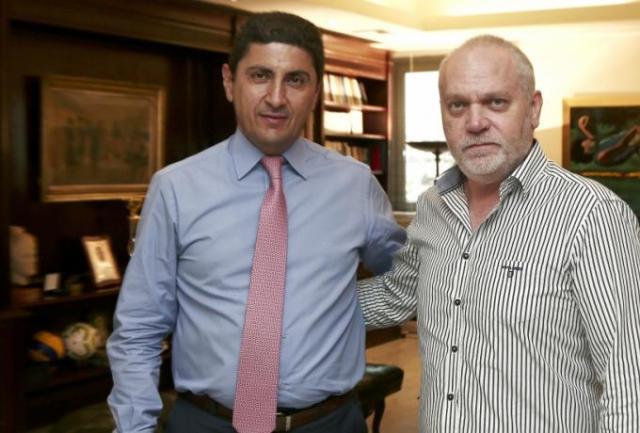 Πόσο πιο κάτω πια; Τα είπε με… Κουντούρη (!) ο Αυγενάκης! | panathinaikos24.gr