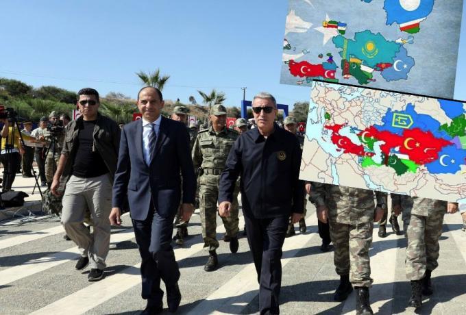 Το… τερμάτισε ο Ακάρ: Έφτιαξε τις Τουρκικές Ηνωμένες Πολιτείες και έβαλε μέσα την Κύπρο, τη Θράκη και το Αιγαίο (Pic) | panathinaikos24.gr