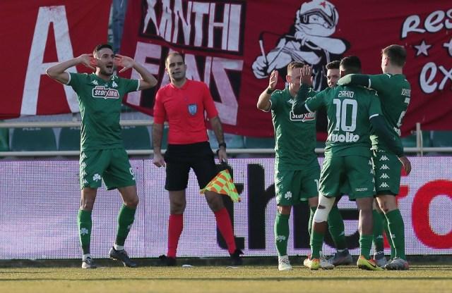 Ασίστ Ζαχίντ, πλασέ Μακένα και 0-1 ο Παναθηναϊκός στην Ξάνθη (vid) | panathinaikos24.gr