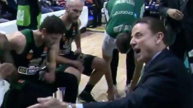 «Τρελάθηκε» ο Πιτίνο με τον Παπαγιάννη (vid) | panathinaikos24.gr
