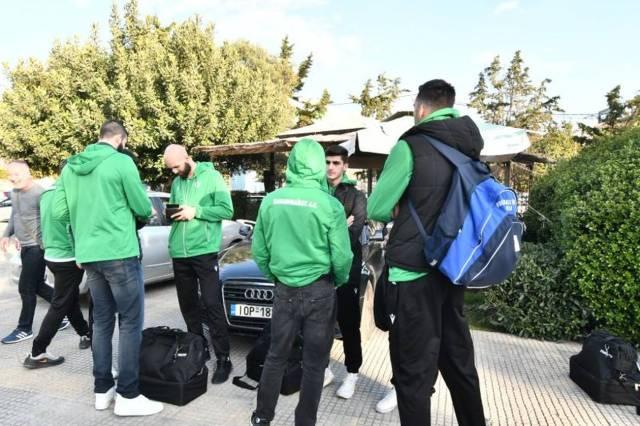 Αναχώρησε για Ρέντη ο Παναθηναϊκός (pics) | panathinaikos24.gr