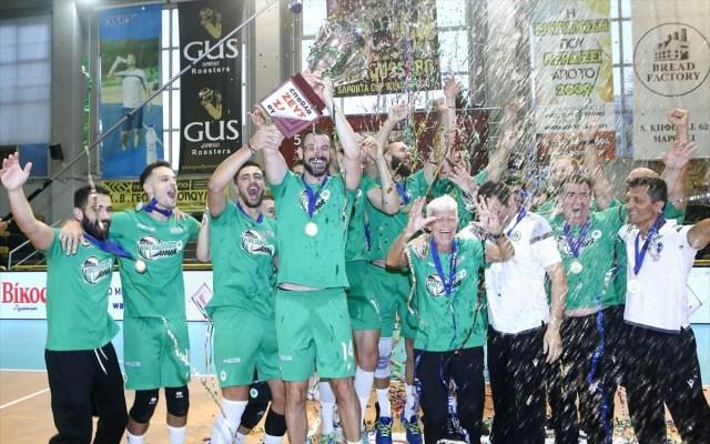 Βραβεύει την πρωταθλήτρια ομάδα βόλεϊ η ΠΑΕ | panathinaikos24.gr