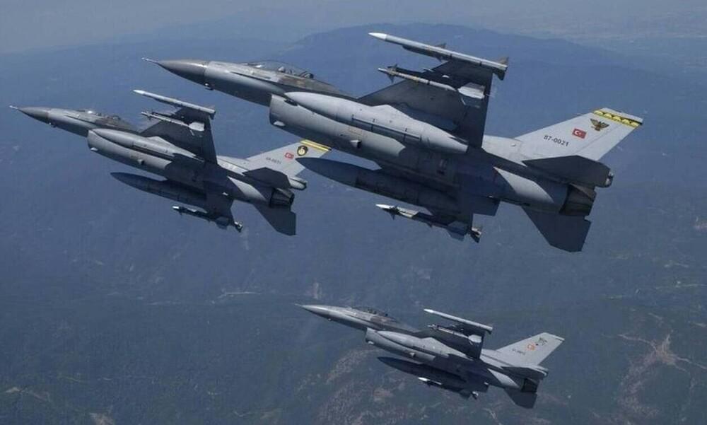 Κρεσέντο προκλητικότητας από τους Τούρκους: Μπαράζ υπερπτήσεων πάνω από το Αιγαίο   panathinaikos24.gr