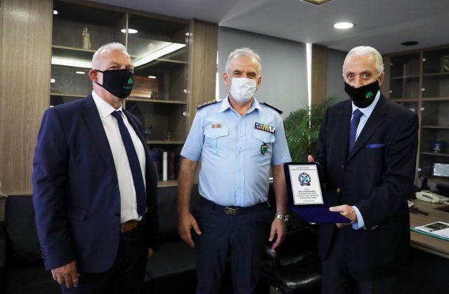 Παναθηναϊκός: Παράδοση υγειονομικού υλικού στη ΓΑΔΑ | panathinaikos24.gr