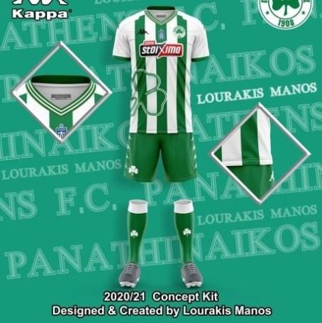 Σχέδια για τις νέες φανέλες του Παναθηναϊκού (pics) | panathinaikos24.gr