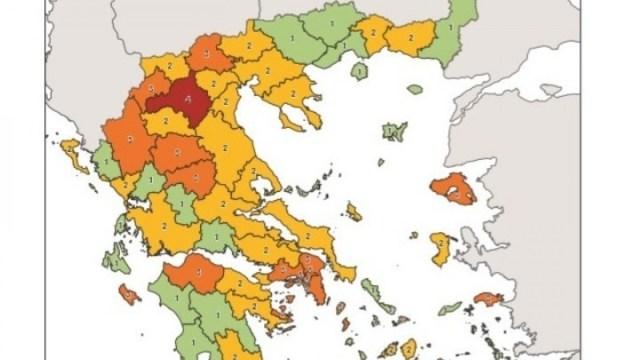 Υγειονομικός Χάρτης: Πού ισχύει μάσκα παντού και περιορισμός κυκλοφορίας- Όλες οι αλλαγές | panathinaikos24.gr