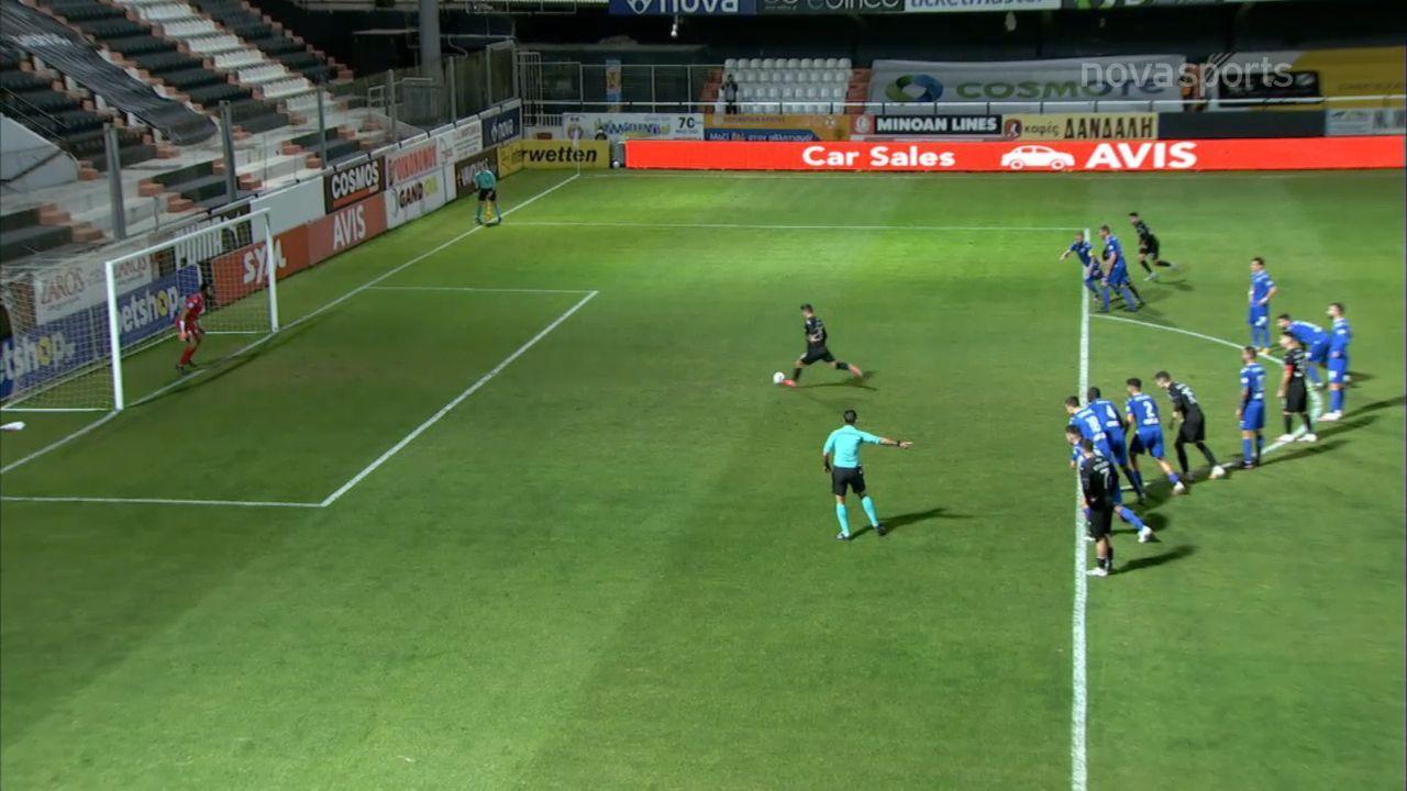 ΟΦΗ-Λαμία: Ο Στάικος το 1-0 (vid) | panathinaikos24.gr