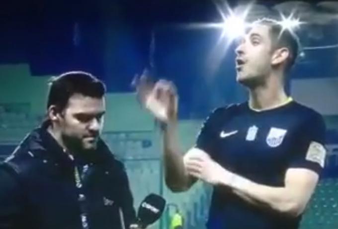 Παπαδόπουλος: Τρία χρόνια μετά αρνητικός πρωταγωνιστής ξανά με ύβρεις και χειρονομίες (vid) | panathinaikos24.gr