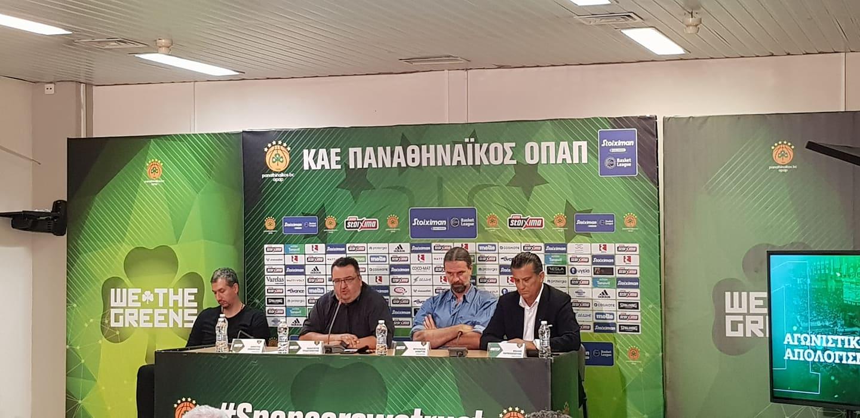 Παναθηναϊκός: Η συνέντευξη Τύπου της πράσινης ΚΑΕ (LΙVE STREAMING) | panathinaikos24.gr