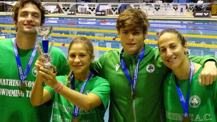 Δύο χρυσά και δύο χάλκινα μετάλλια για τον Παναθηναϊκό | panathinaikos24.gr