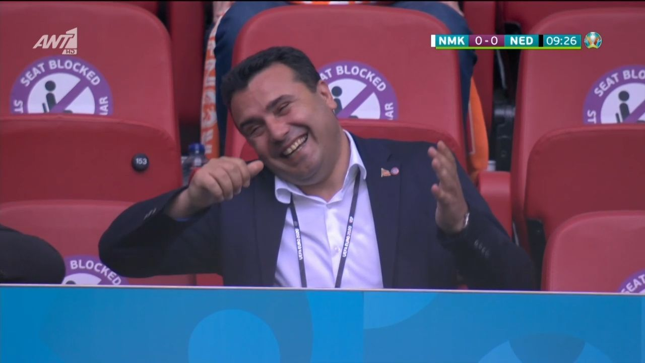 Βόρεια Μακεδονία – Ολλανδία : Το ακυρωθέν γκολ του Ριστόφσκι και η αντίδραση του Ζάεφ (vid) | panathinaikos24.gr
