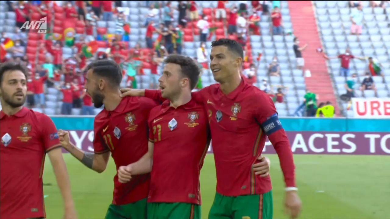 Γερμανία – Πορτογαλία : Ζότα μοιράζει, Ρονάλντο σκοράρει για το 0-1 (vid) | panathinaikos24.gr