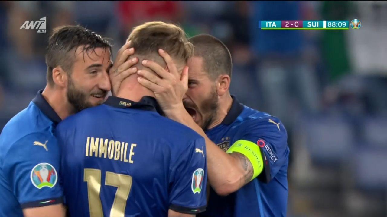 Ιταλία – Ελβετία : Με υπογραφή Ιμόμπιλε το 3-0 | panathinaikos24.gr
