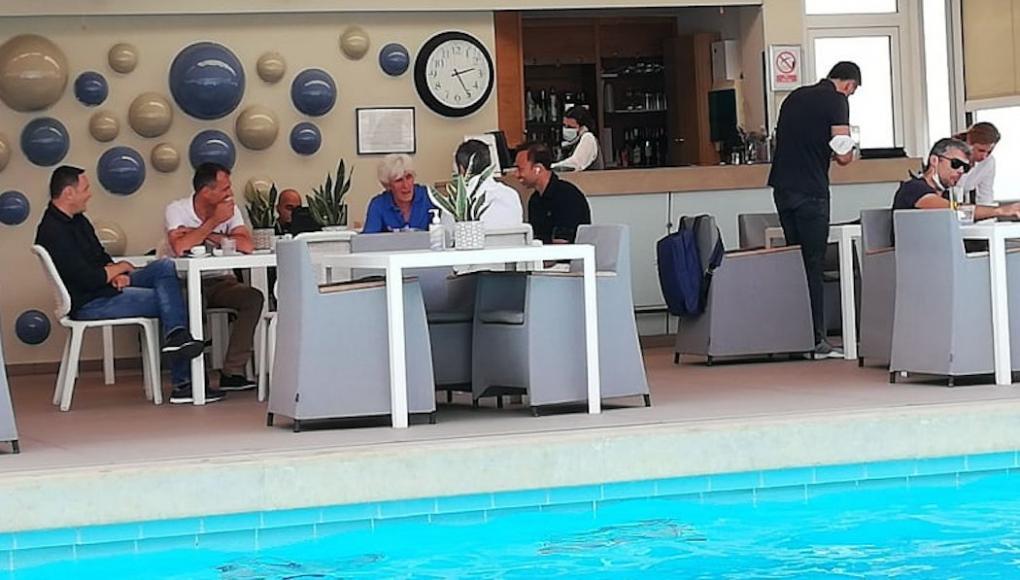 Παναθηναϊκός: Η πρώτη σύσκεψη του Γιοβάνοβιτς στην Αθήνα (pics) | panathinaikos24.gr